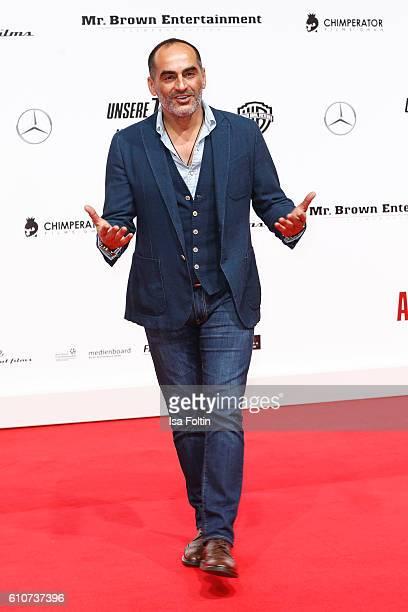 German actor Navid Negahban attends the 'Unsere Zeit ist jetzt' World Premiere at CineStar on September 27 2016 in Berlin Germany