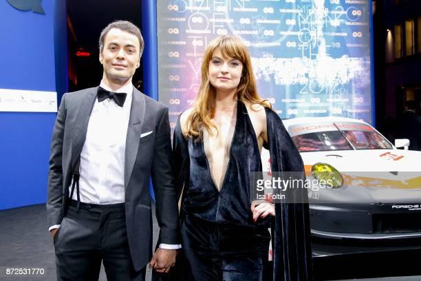 German actor Nikolai Kinski and his girlfriend Ina Paule Klink arrive for the GQ Men of the year Award 2017 at Komische Oper on November 9 2017 in...