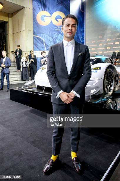 German actor Nikolai Kinski arrives for the 20th GQ Men of the Year Award at Komische Oper on November 8 2018 in Berlin Germany