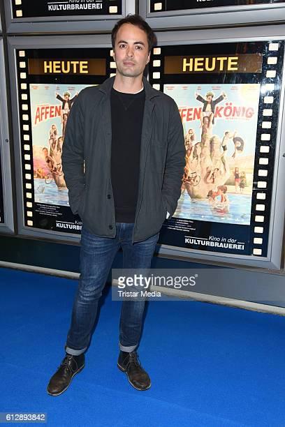German actor Nikolai Kinski attends the 'Affenkoenig' Berlin Premiere at Kino in der Kulturbrauerei on October 5, 2016 in Berlin, Germany.