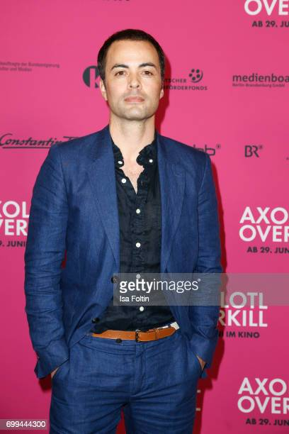German actor Nikolai Kinski attends the 'Axolotl Overkill' Berlin Premiere at Volksbuehne RosaLuxemburgPlatz on June 21 2017 in Berlin Germany