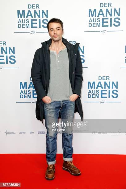 German actor Nikolai Kinski attends the premiere of 'Der Mann aus dem Eis' at Zoo Palast on November 21, 2017 in Berlin, Germany.