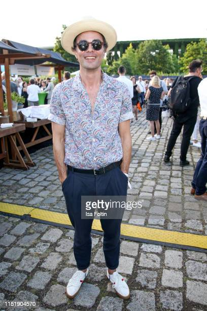 German actor Nikolai Kinski attends the summer party of the German Producers Alliance on June 25 2019 in Berlin Germany