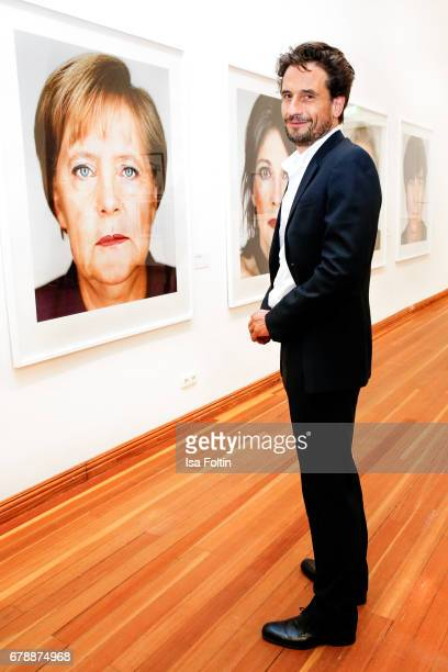 German actor Oliver Mommsen attends the 'Foto.Kunst.Boulevard' opening at Martin-Gropius-Bau on May 4, 2017 in Berlin, Germany.