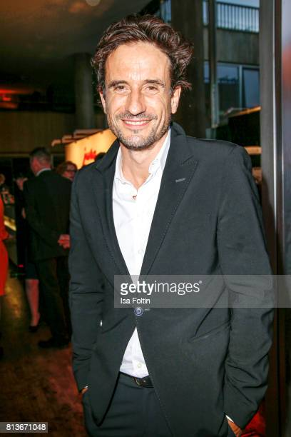 German actor Oliver Mommsen during the summer party 2017 of the German Producers Alliance on July 12 2017 in Berlin Germany