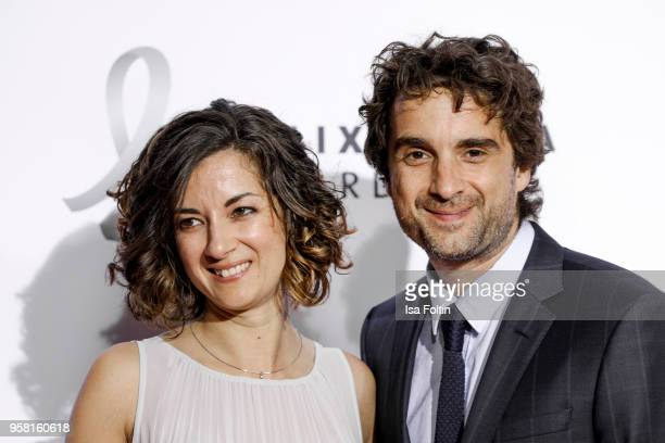 German actor Oliver Wnuk and his sister Samantha Wnuk attend the Felix Burda Award at Hotel Adlon on May 13, 2018 in Berlin, Germany.