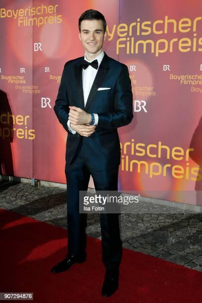 German actor Patrick Moelleken attends the Bayerischer Filmpreis 2018 at Prinzregententheater on January 21 2018 in Munich Germany
