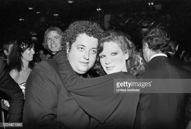 German actor Peter Kern dancing with Elisabeth Volkmann at the Deutscher Filmball on January 15th 1979 at Munich Germany 1970s