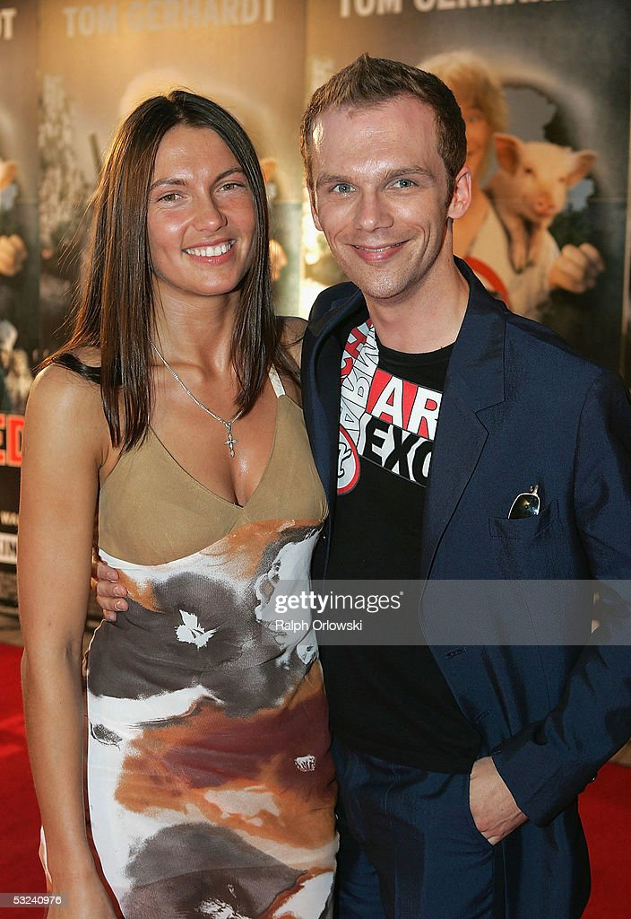 german actor ralf schmitz and his girlfriend ilona attend. Black Bedroom Furniture Sets. Home Design Ideas