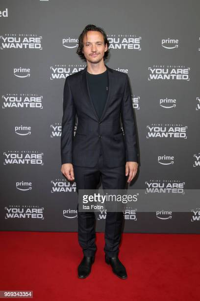 German actor Ralph Ketschmar attends the premiere of the second season of 'You are wanted' at Filmtheater am Friedrichshain on May 16 2018 in Berlin...