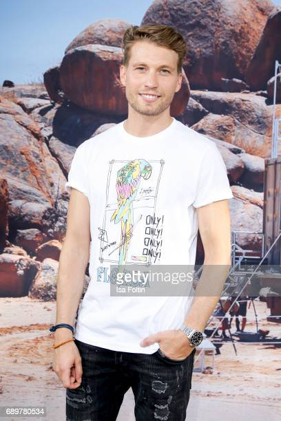 German actor Raul Richter attends the 'Global Gladiators' exclusive preview at Astor Film Lounge on May 29 2017 in Berlin Germany