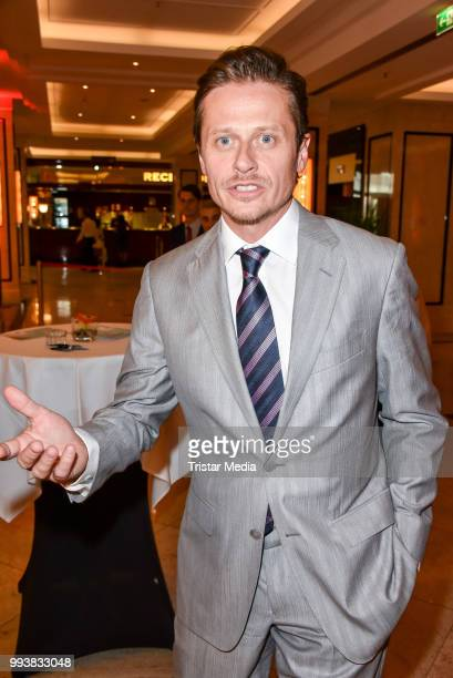 German actor Roman Knizka during the Aline Reimer Foundation Gala on July 7 2018 in Berlin Germany