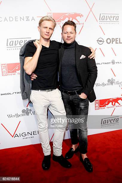 German actor Roman Schomburg and Bastian Ammelounx CEO La Martina Germany attend New Faces Award Style on November 16 2016 in Berlin Germany
