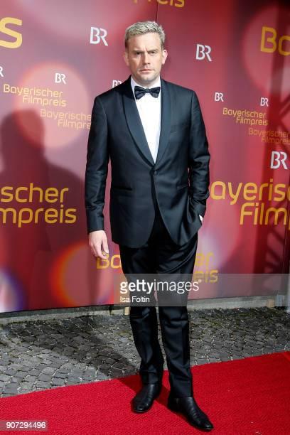 German actor Sebastian Bezzel attends the Bayerischer Filmpreis 2018 at Prinzregententheater on January 21 2018 in Munich Germany