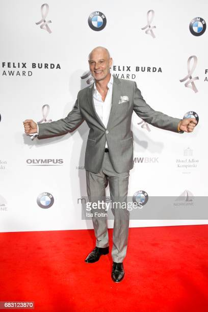 German actor Simon Licht attends the Felix Burda Award 2017 at Hotel Adlon on May 14 2017 in Berlin Germany