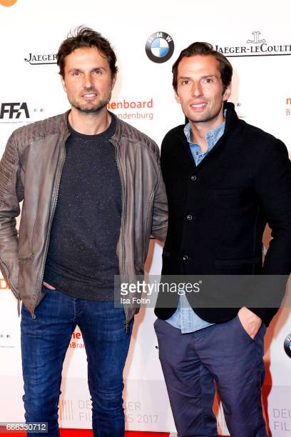 German actor Simon Verhoeven and german producer Quirin Berg attend the nominee dinner for the German Film Award 2017 Lola at BMW Niederlassung...
