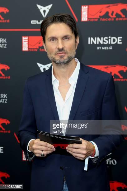 German actor Simon Verhoeven attends the New Faces Award Film at Umspannwerk Alexanderplatz on May 2 2019 in Berlin Germany