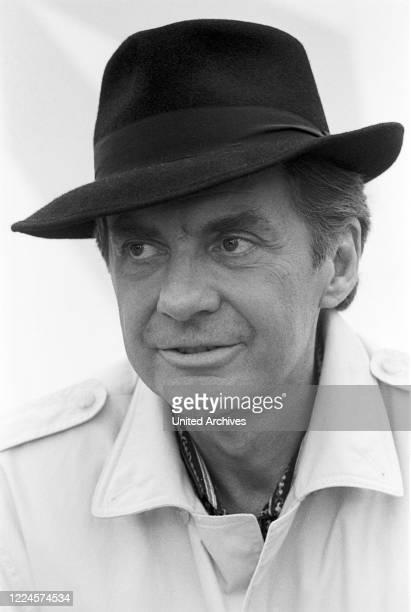 German actor singer and entertainer Harald Juhnke Germany circa 1980