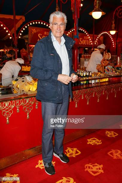 German actor Sky du Mont during the Circus Roncalli Gala Premiere at Moorweide Park on June 3 2017 in Hamburg Germany