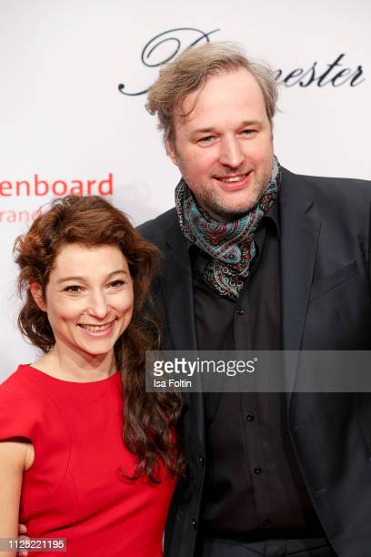 German actor Stephan Grossmann adn guest attend the Medienboard BerlinBrandenburg Reception on the occasion of the 69th Berlinale International Film...