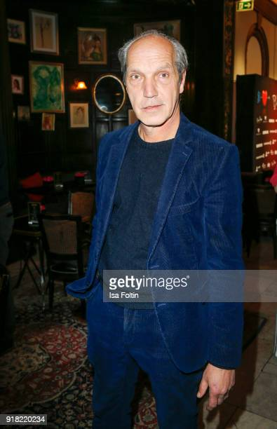 German actor Thomas Bestvater attends the Blaue Blume Awards 2018 at Grosz on February 14 2018 in Berlin Germany