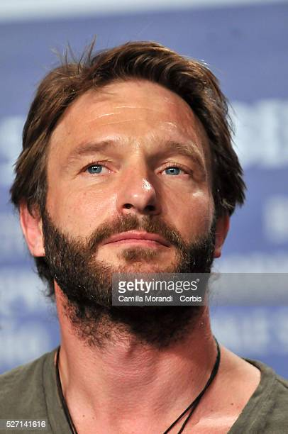 German actor Thomas Kretschmann attends a press conference for the film Transsiberian during the 58th Berlinale Film Festival