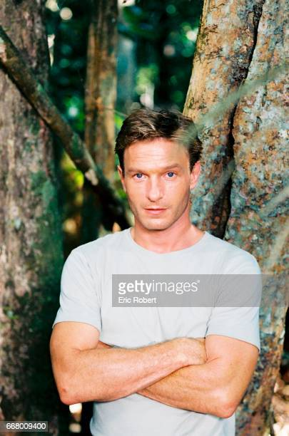 "German actor, Thomas Kretschmann, who plays Josef Mengele's 35-year-old son, on the film set of ""Papa Rua Alguem 5555""."