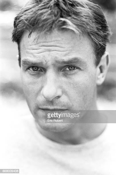 "German actor, Thomas Kretschmann, who plays Josef Mengele's 35-year-old son, on the film set of ""Papa Rua Alguem 5555""."