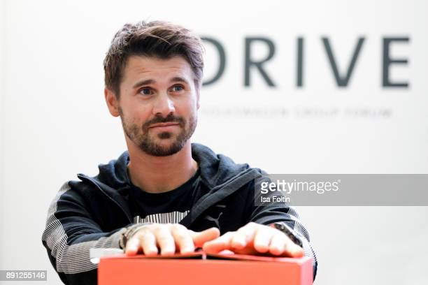 German actor Thore Schoelermann during the discussion panel of Clich'e Bashing 'soziale Netzwerke Real vs Digital' In Berlin at DRIVE Volkswagen...