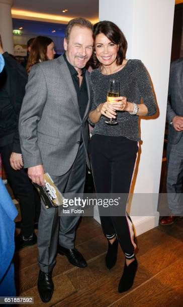 German actor Till Demtroeder and german actress Gerit Kling attend the 'Baltic Lights' charity event on March 10, 2017 in Heringsdorf, Germany. Every...
