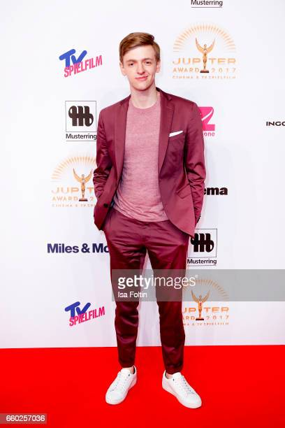 German actor Timur Bartels attends the Jupiter Award at Cafe Moskau on March 29 2017 in Berlin Germany