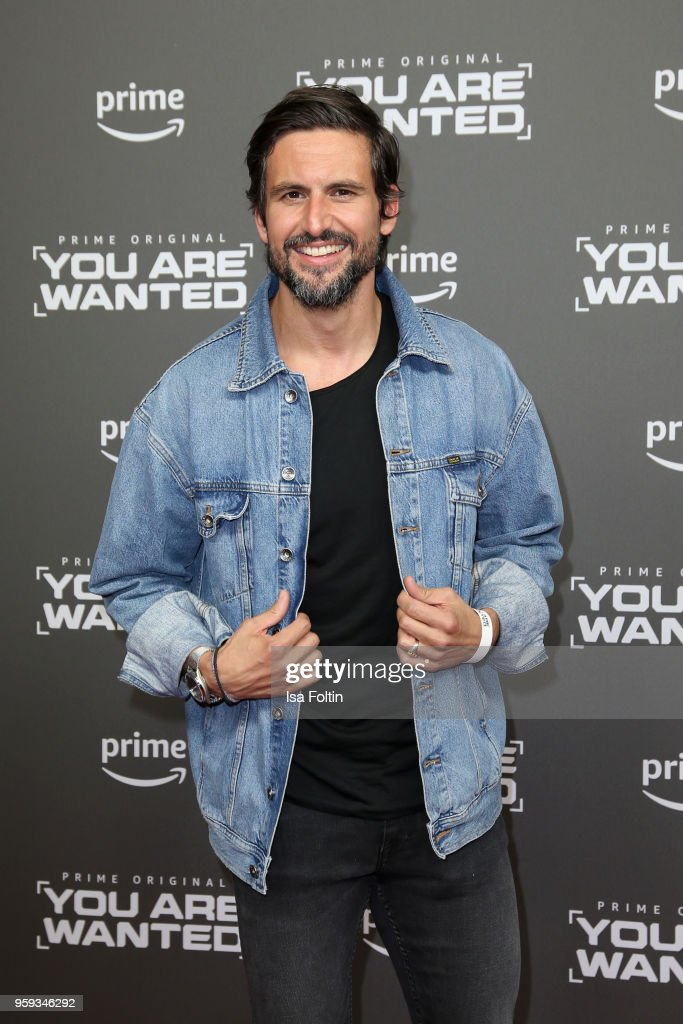German actor Tom Beck attends the premiere of the second season of 'You are wanted' at Filmtheater am Friedrichshain on May 16, 2018 in Berlin, Germany.