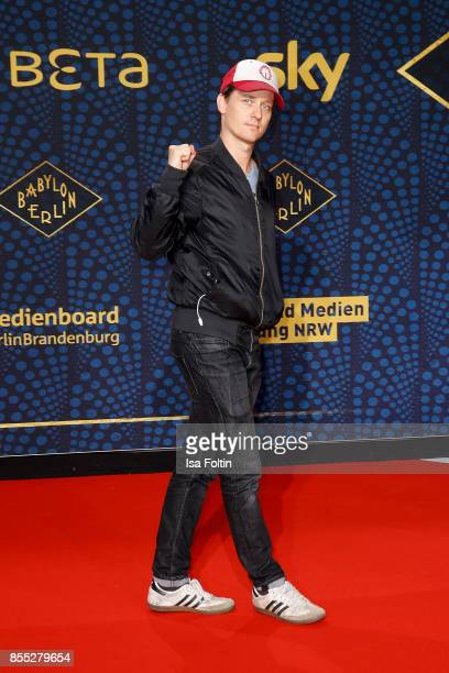 German actor Tom Schilling attends the 'Babylon Berlin' Premiere at Berlin Ensemble on September 28 2017 in Berlin Germany