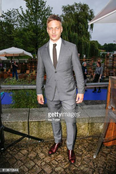 German actor Tom Wlaschiha attends the summer party 2017 of the German Producers Alliance on July 12 2017 in Berlin Germany