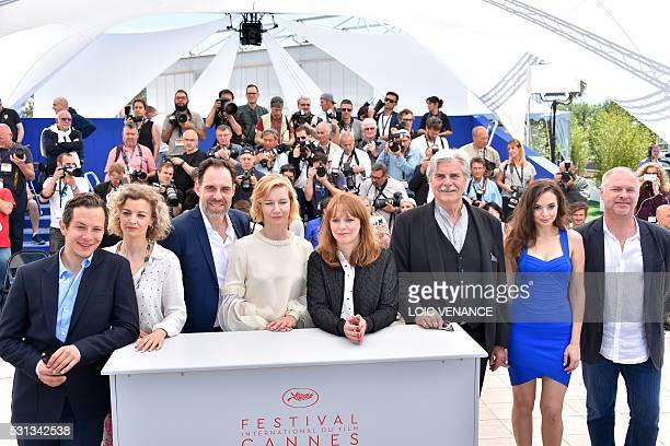 German actor Trystan Putter, British actress Lucy Russell, German actor Thomas Loibl, German actress Sandra Huller, German director Maren Ade,...