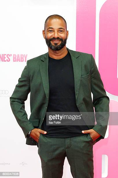 German actor Tyron Ricketts attends the 'Bridget Jones Baby' German Premiere at Zoo Palast on September 7 2016 in Berlin Germany