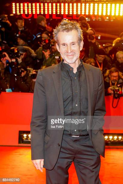 German actor Ulrich Matthes attends the 'Django' premiere during the 67th Berlinale International Film Festival Berlin at Berlinale Palace on...