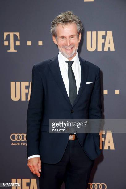 German actor Ulrich Matthes attends the UFA 100th anniversary celebration at Palais am Funkturm on September 15 2017 in Berlin Germany