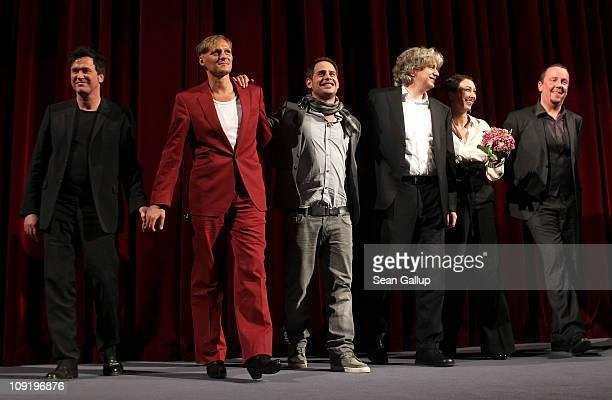 German actor Uwe Bohm, Austrian actor Georg Friedrich, German actor Moritz Bleibtreu, German director Wolfgang Murnberger and Austrian actress Ursula...