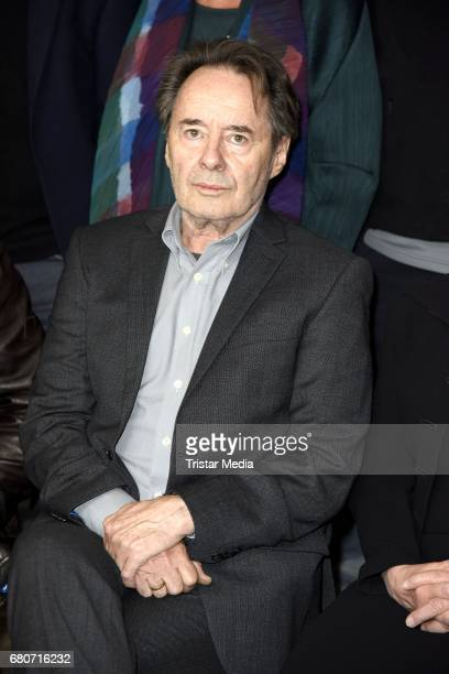 German actor Uwe Kockisch attends the photo call for the new season of the television show 'Weissensee' on May 9 2017 in Berlin Germany