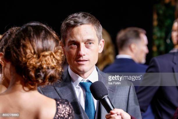 German actor Volker Bruch attends the 'Babylon Berlin' Premiere at Berlin Ensemble on September 28 2017 in Berlin Germany