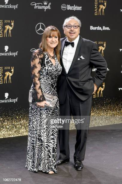 German actor Wolfgang Stumph and his wife Christine Stumph attend the 70th Bambi Awards at Stage Theater on November 16 2018 in Berlin Germany