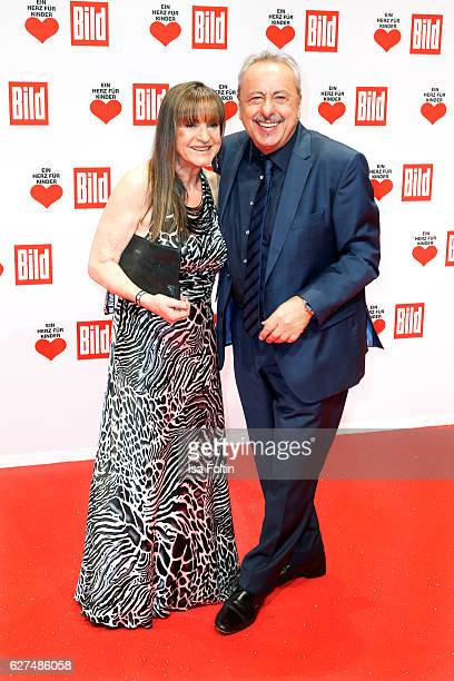 German actor Wolfgang Stumph and his wife Christine Stumph attend the Ein Herz Fuer Kinder gala on December 3, 2016 in Berlin, Germany.