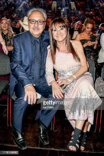 German actor Wolfgang Stumph and his wife Christine Stumph during the Goldene Henne at Messe Leipzig on September 20, 2019 in Leipzig, Germany.