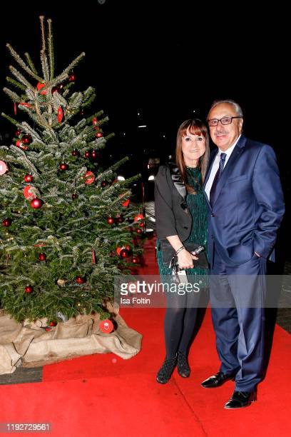 "German actor Wolfgang Stumph and his wife Christine Stumph during the Daimlers ""BE A MOVER"" event at Ein Herz Fuer Kinder Gala at Studio Berlin..."