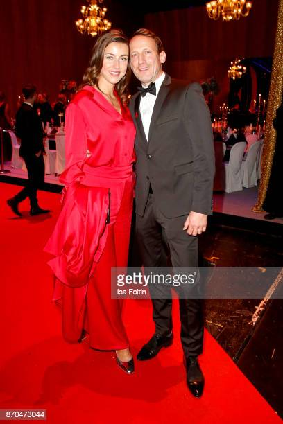 German actor Wotan Wilke Moehring and his partner Cosima Lohse attend the aftershow party during during the 24th Opera Gala at Deutsche Oper Berlin...