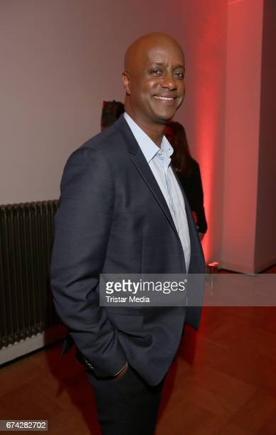 German actor Yared Dibaba during the Henri Nannen Award After Show Party on April 27, 2017 in Hamburg, Germany.