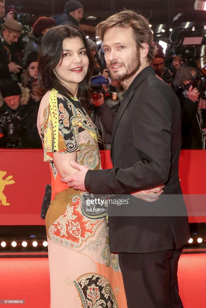 German actors Jasmin Tabatabai and Andreas Pietschmann attend the Opening Ceremony & 'Isle of Dogs' premiere during the 68th Berlinale International Film Festival Berlin at Berlinale Palace on February 15, 2018 in Berlin, Germany.