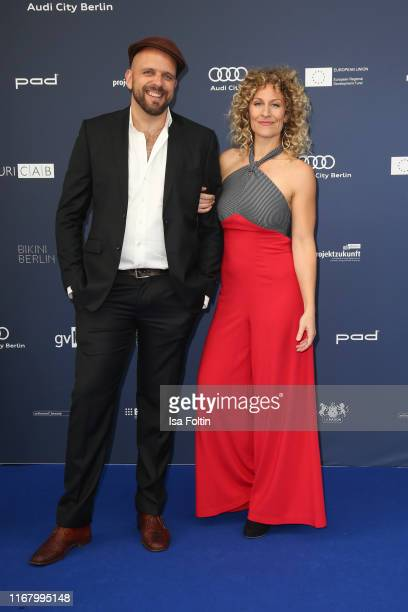 German actress Alessija Lause and guest at the award ceremony of the Deutscher Schauspielpreis at Zoo Palast on September 13 2019 in Berlin Germany
