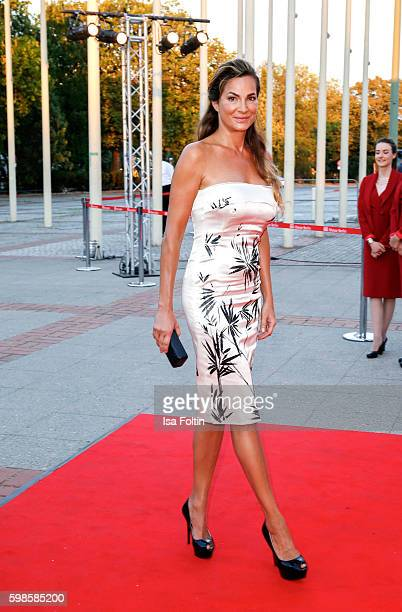 German actress Alexandra Kamp attends the IFA 2016 opening gala on September 1 2016 in Berlin Germany